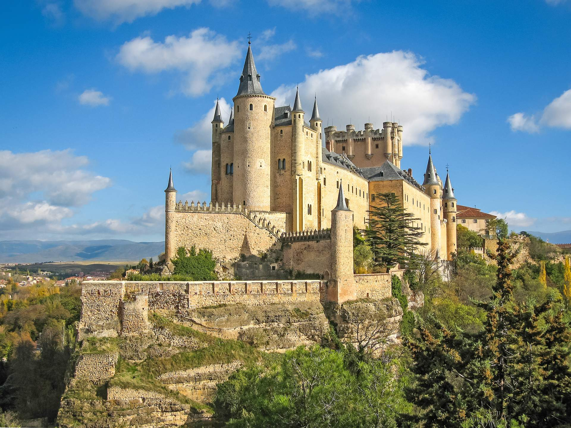 Segovia: Alcazar