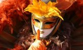 Venedig: Maske