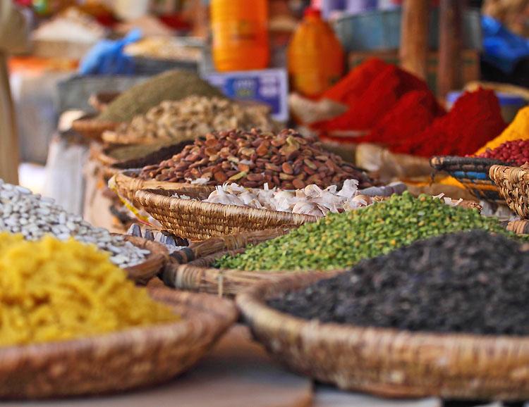 Marokko: Markt