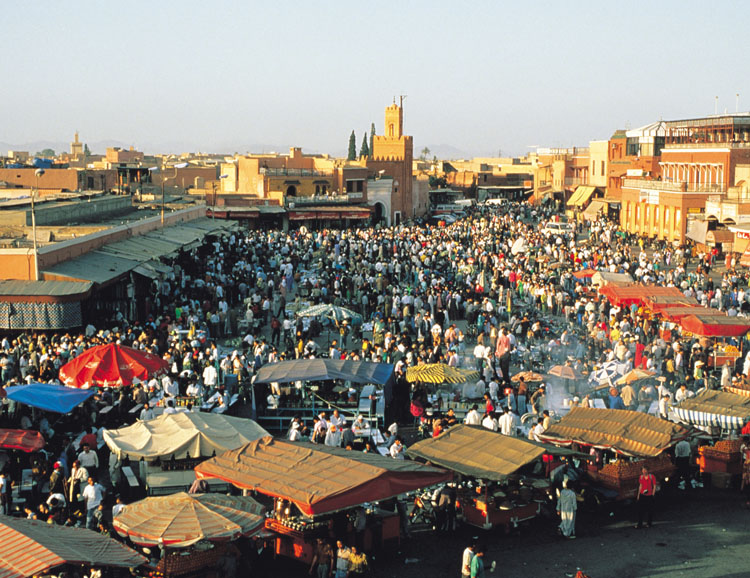 Marokko: Marrakesch