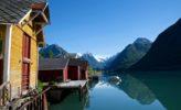 wunderschöner Fjord