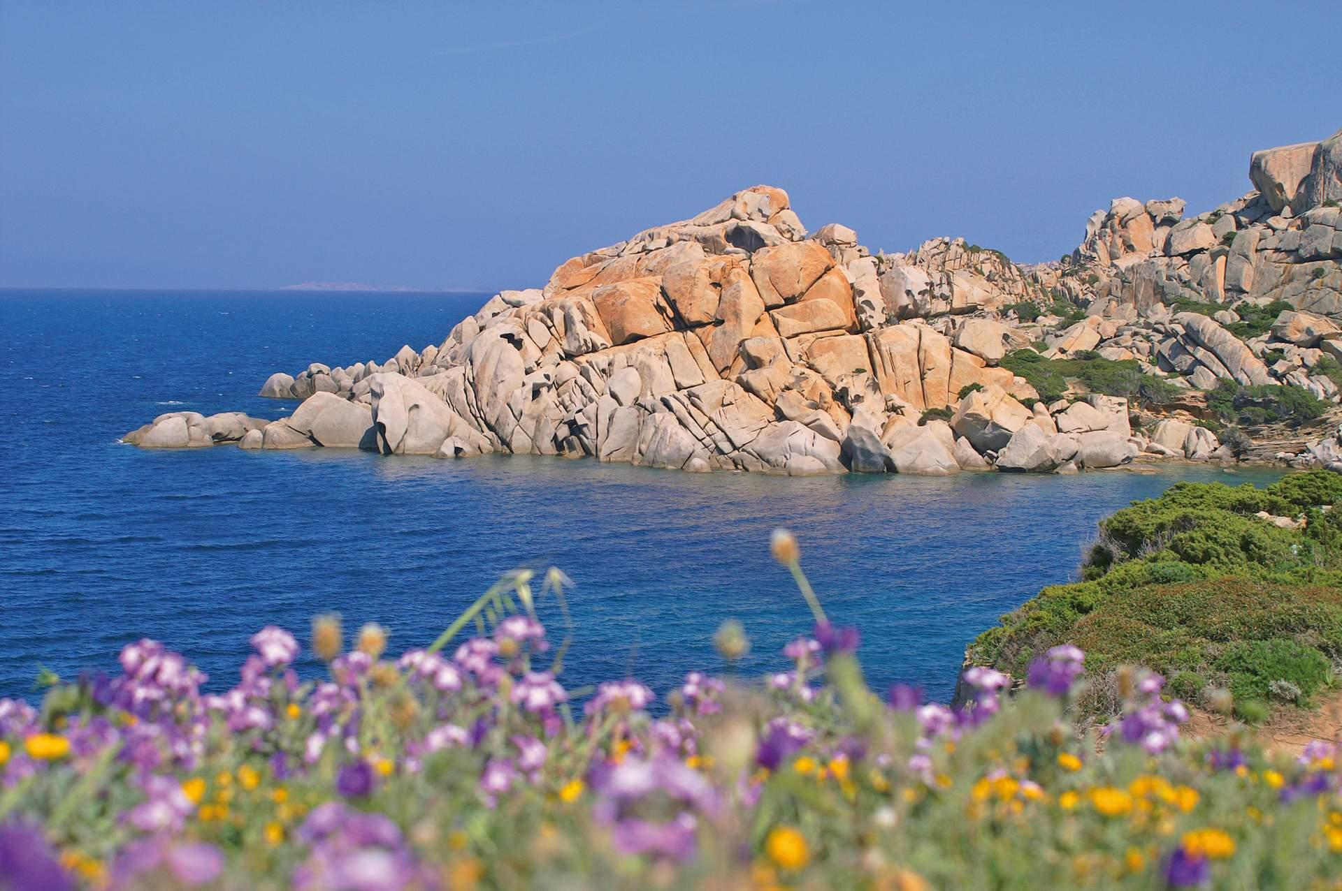 Küste Sardiniens