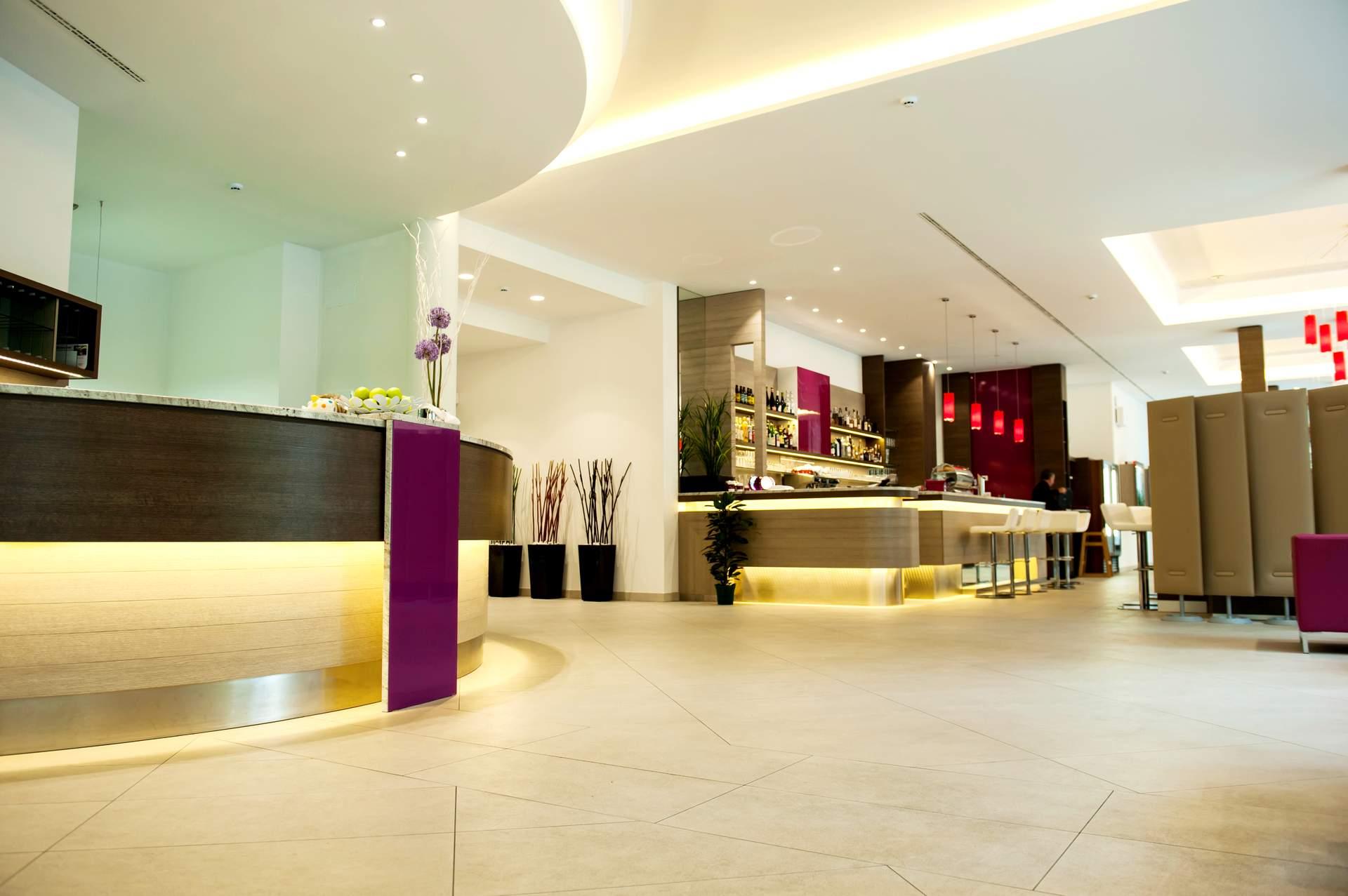 City Hotel Merano Lobby
