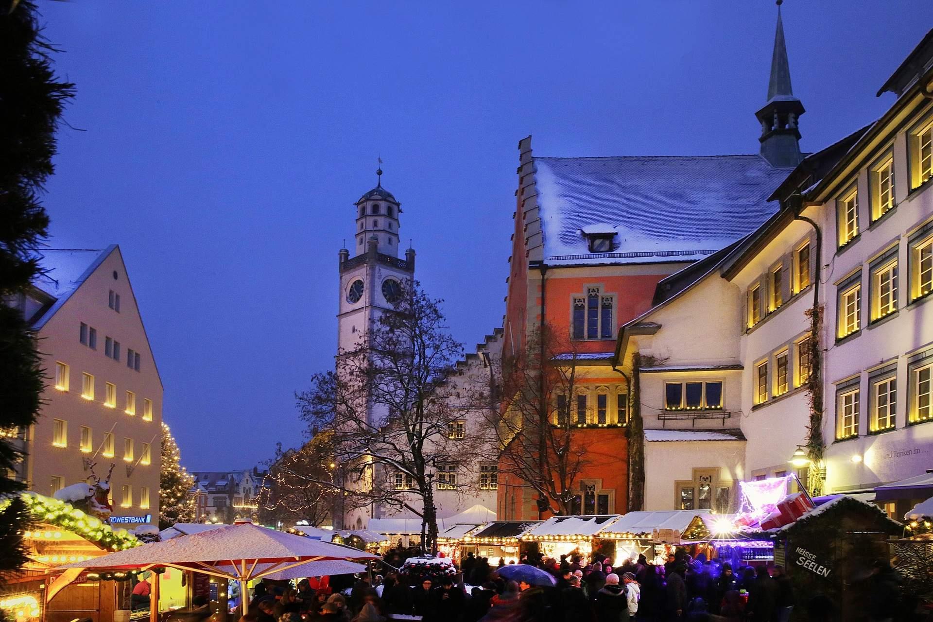 Ravensburg: Weihnachtmarkt