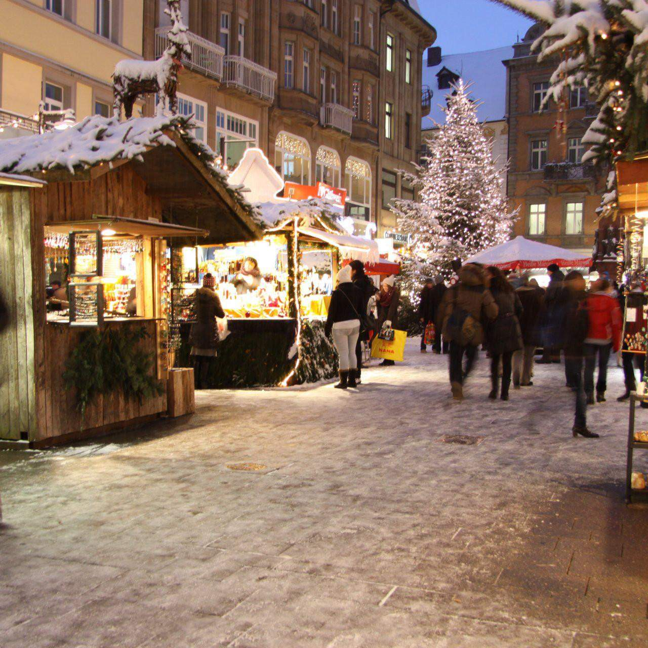 Konstanz: Weihnachtsmarkt