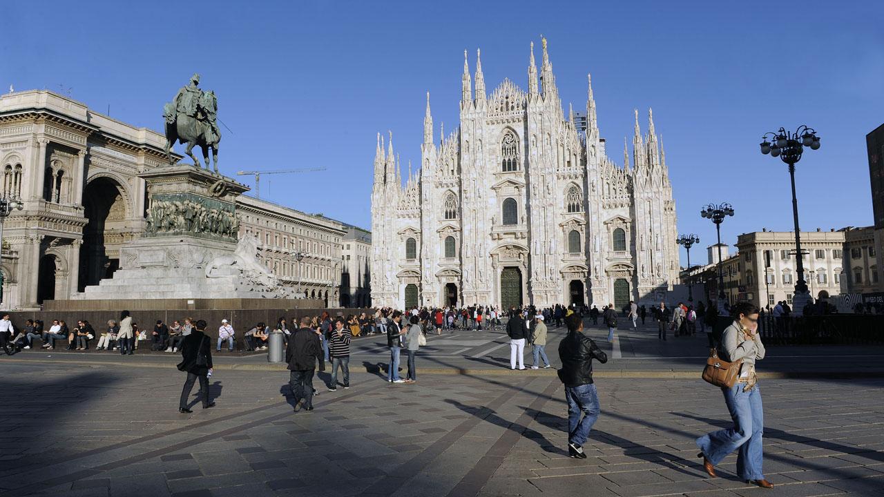 Metropolitanstadt Mailand Italien
