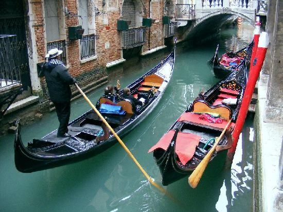 Venedig: Gondeln