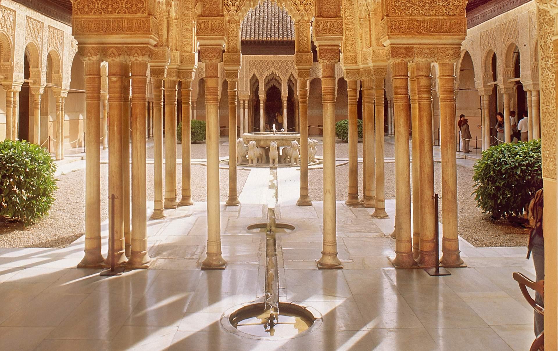 Andalusien: Ausblick von der Alhambra