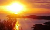 Griechenland: Sonnenuntergang