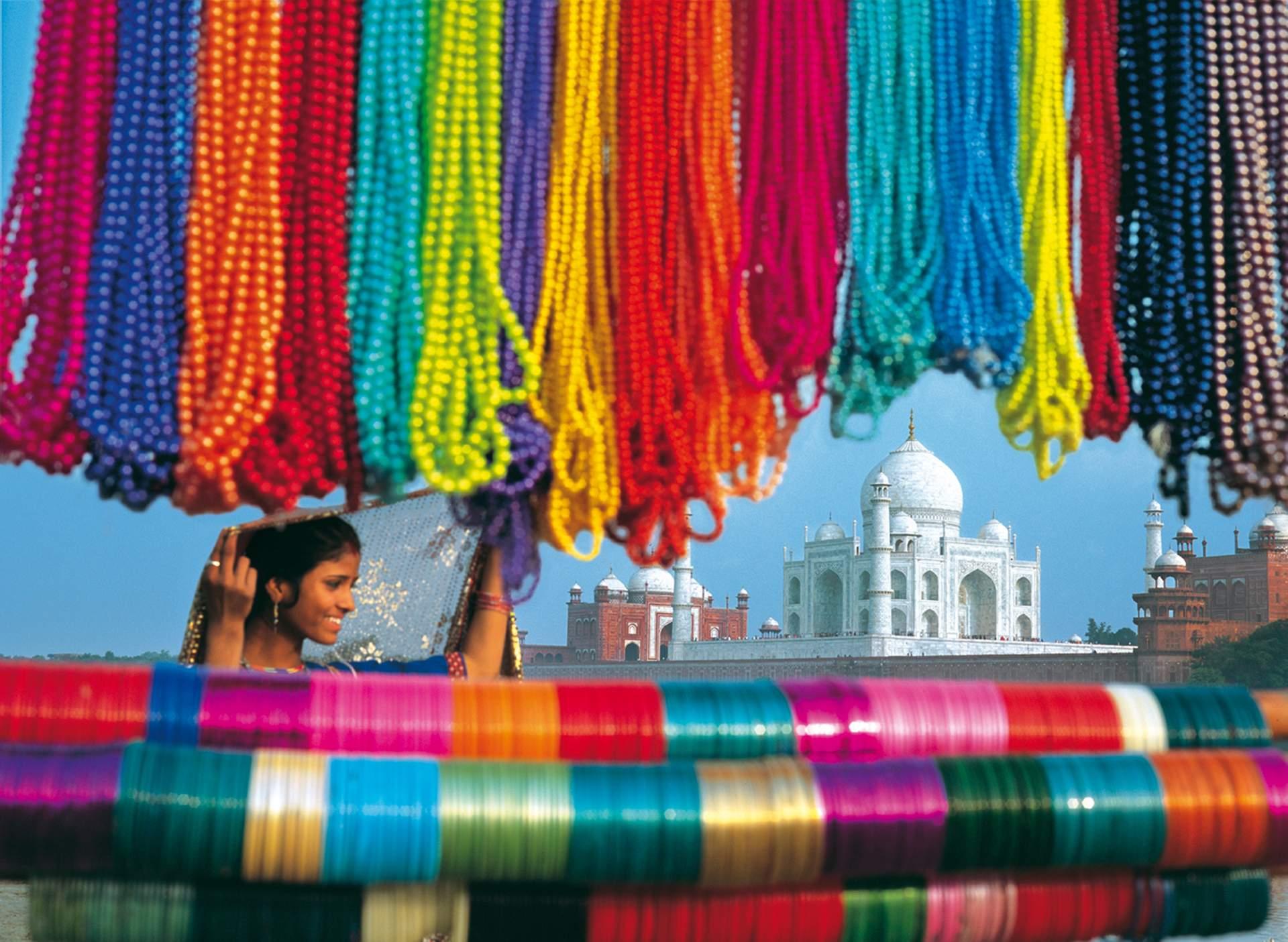 Indien: Taj Mahal