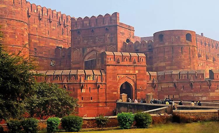 Indien: Agra
