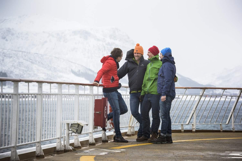 Nordkap: Hurtigruten