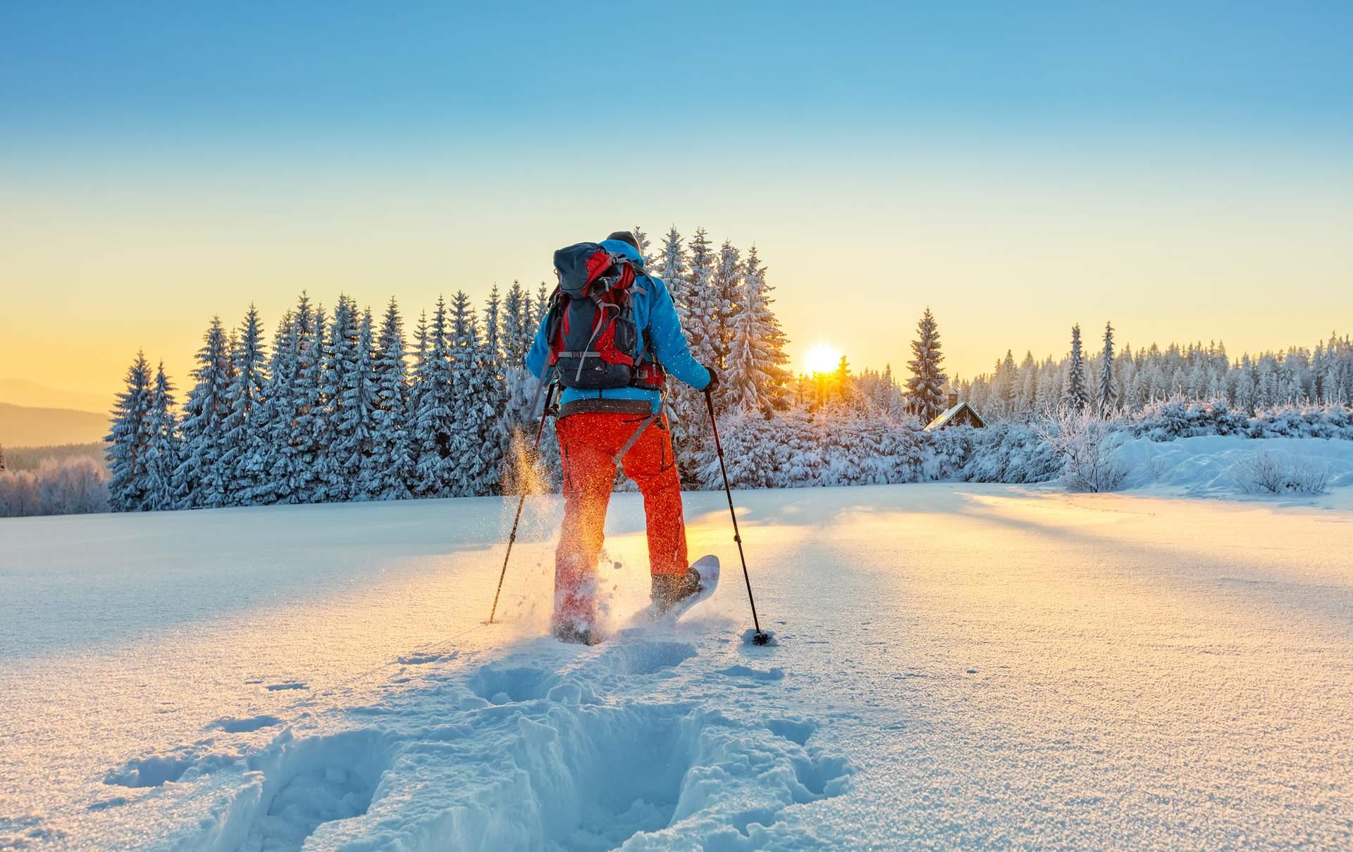 Finnland: Schneeschuhwanderung