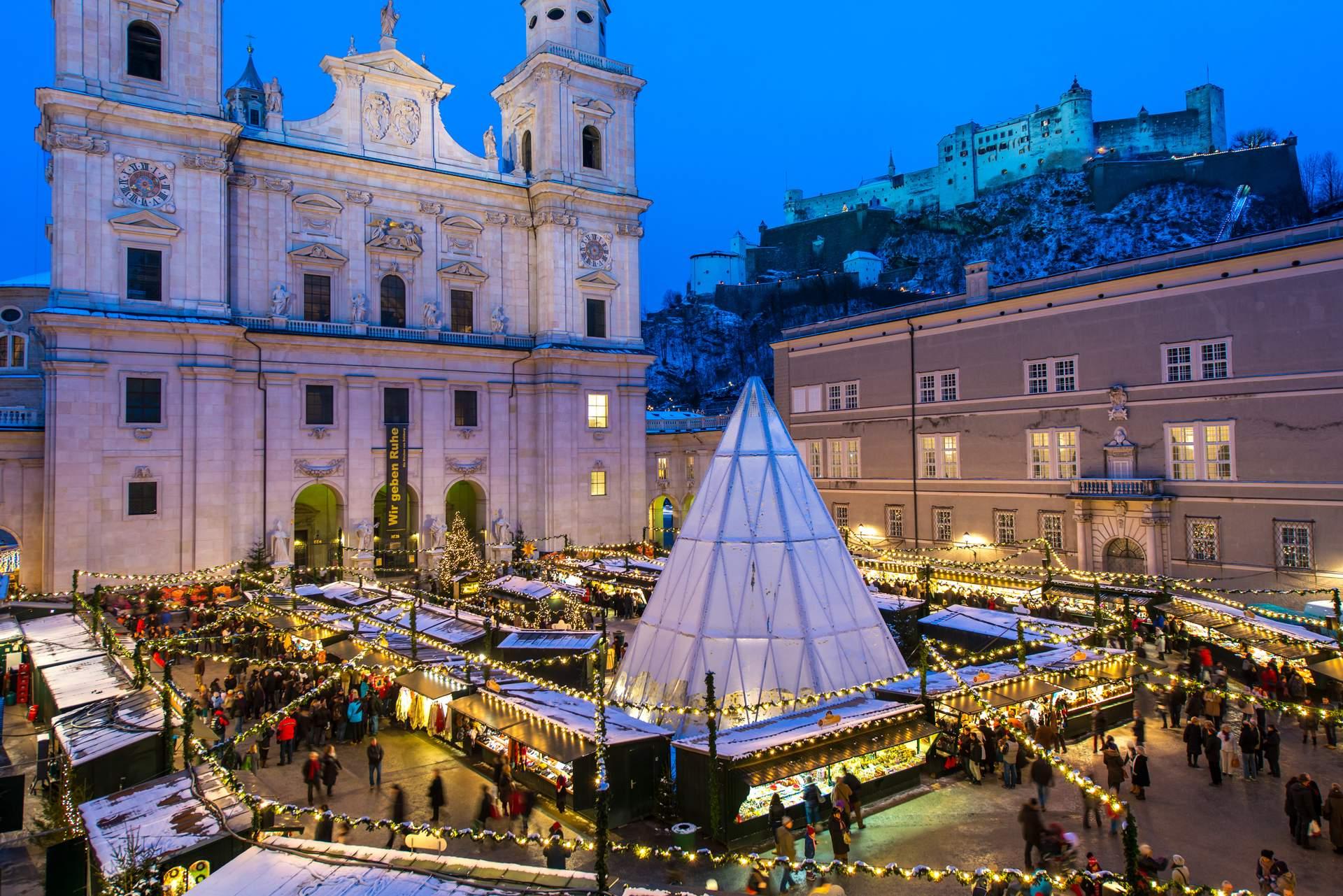 Salzburg: Weihnachtsmarkt