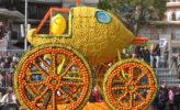 Menton: Zitronnenfest