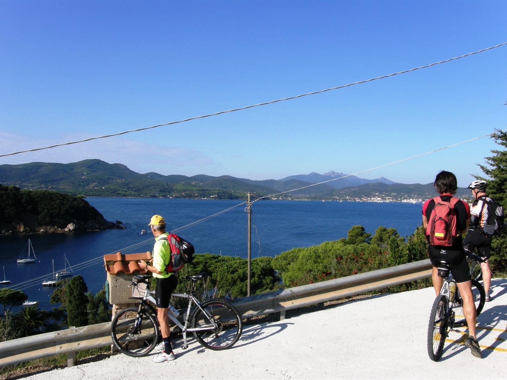Biken auf Elba