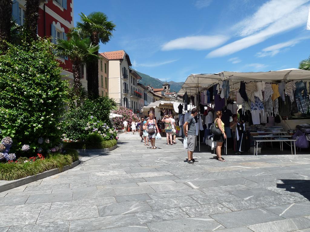 Cannobio Markt