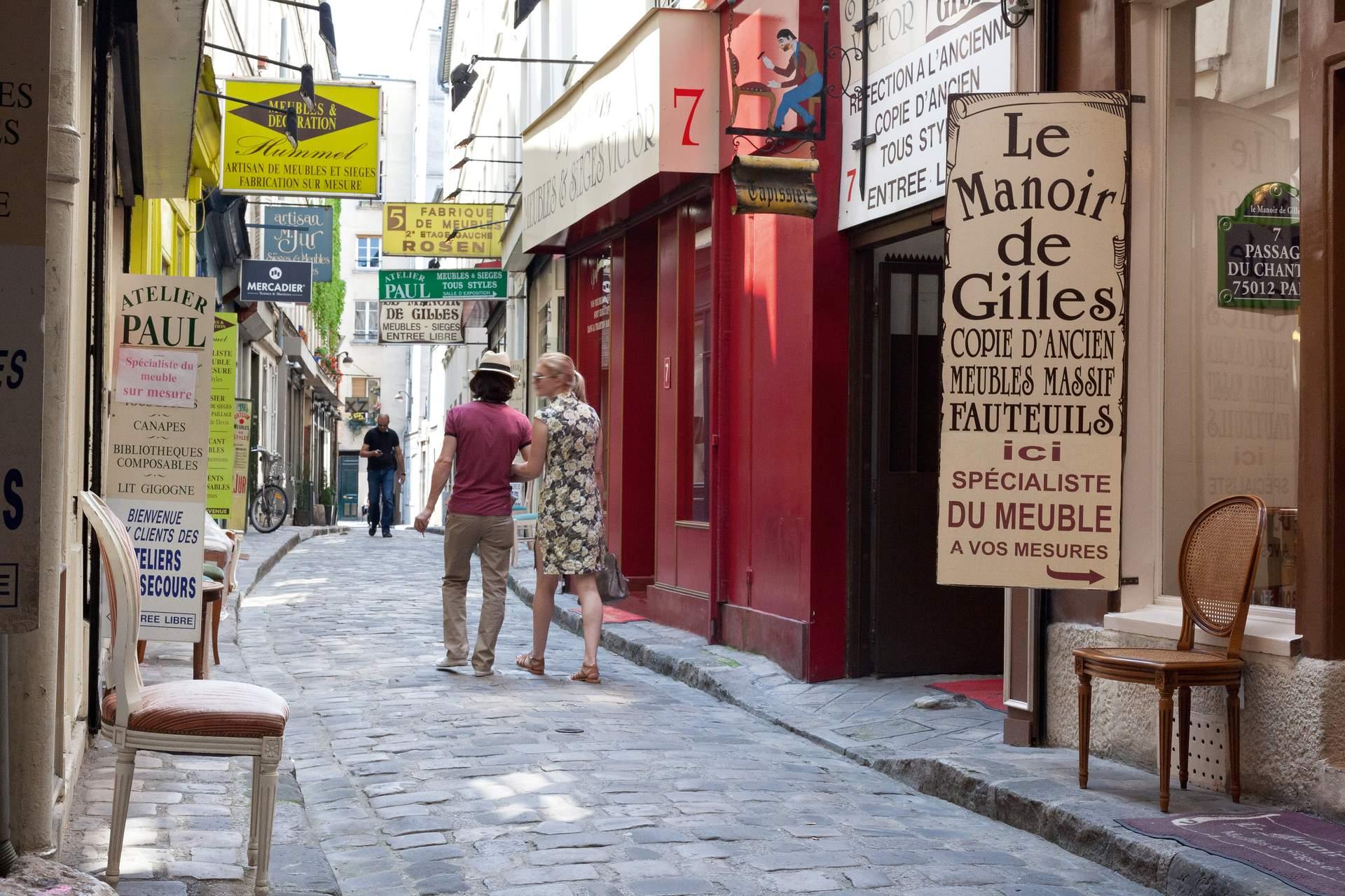 Paris: Gassen