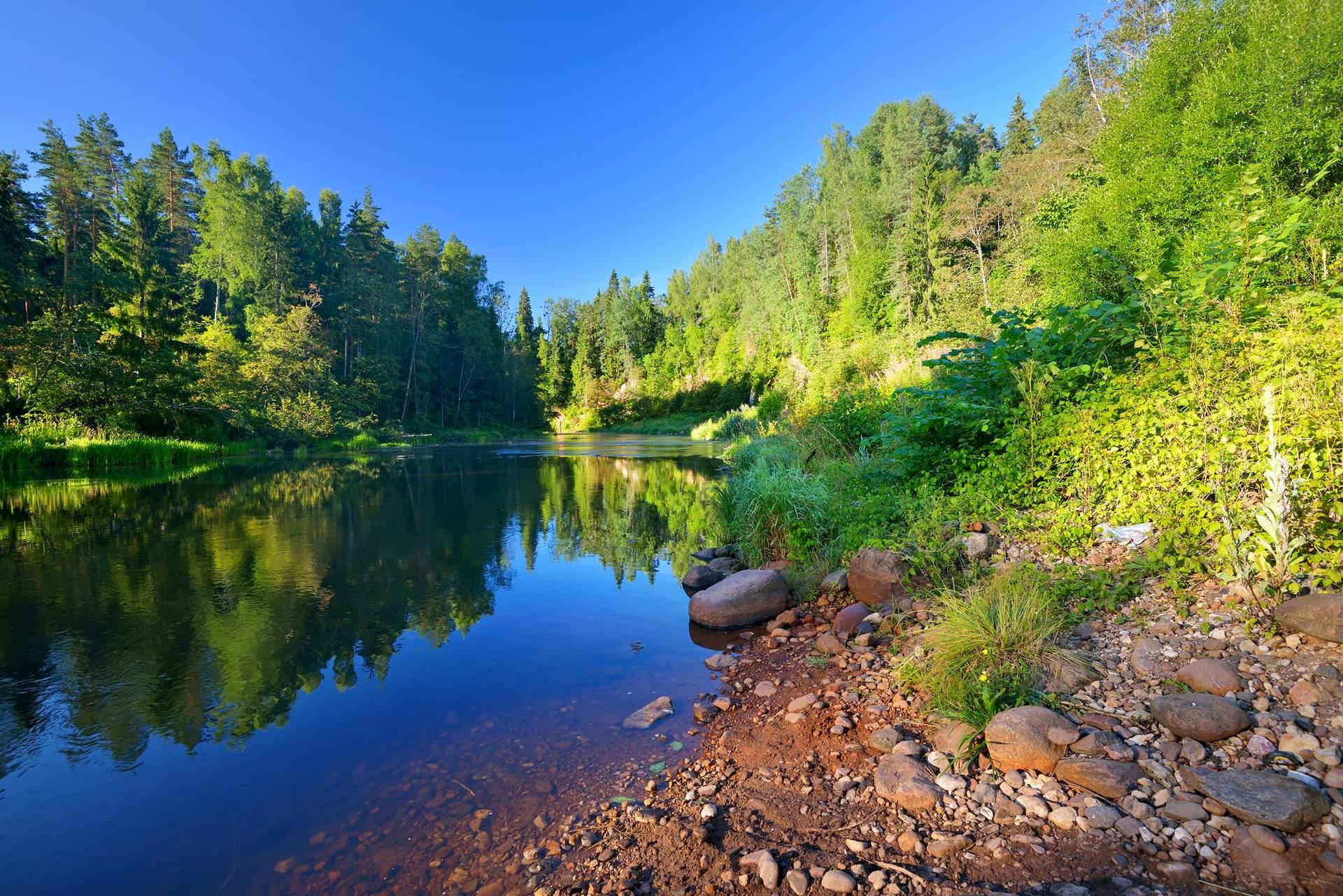 Baltikum: Nationalpark Gauja ©Aleksey Stemmer