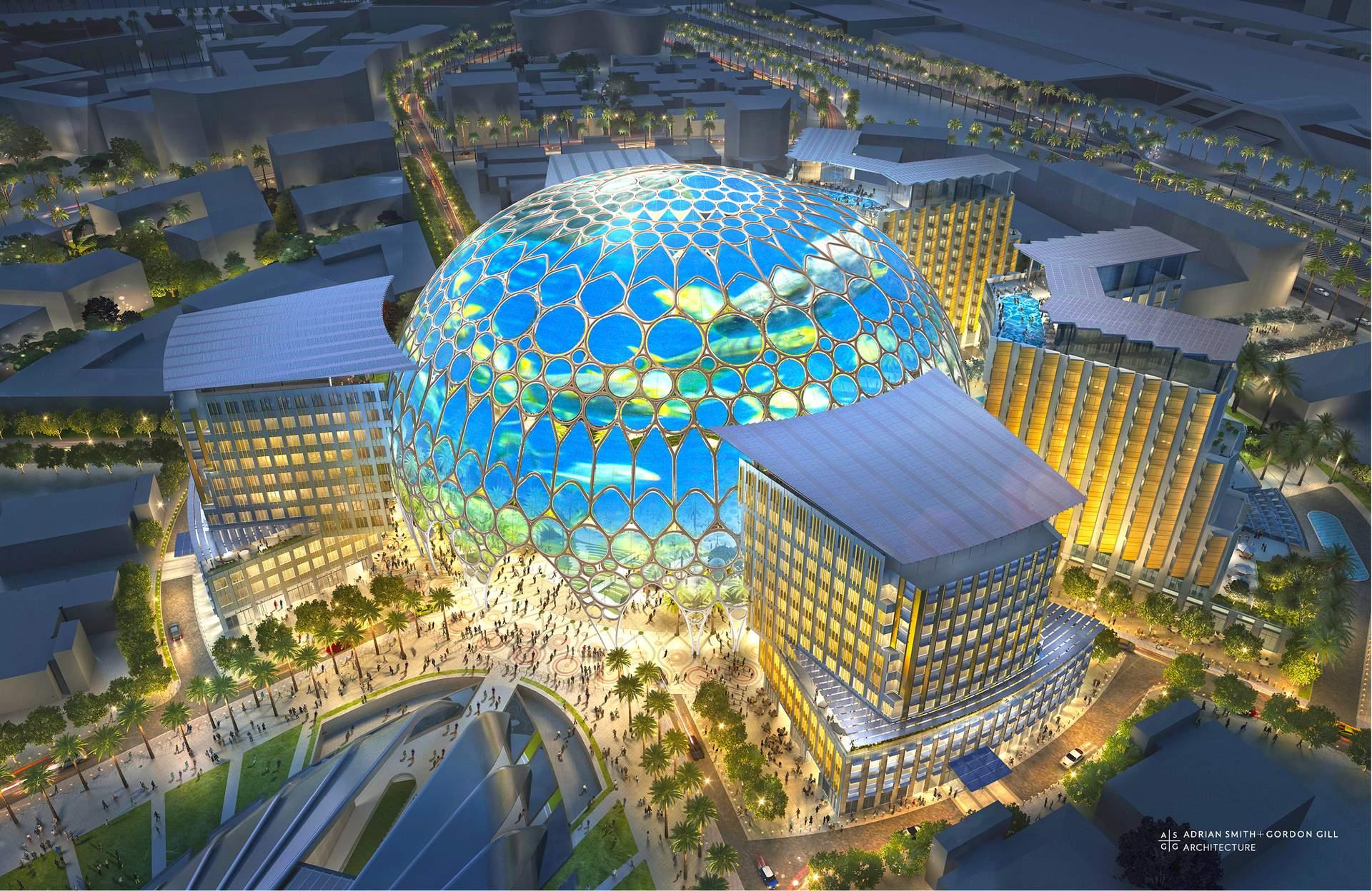 Dubai: Al Wasl Plaza Illustration - Quelle: GLOBALIS