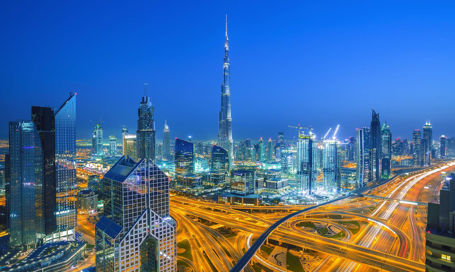 Dubai: Skyline von Dubai ©Rastislav Sedlak SK - stock.adobe.com